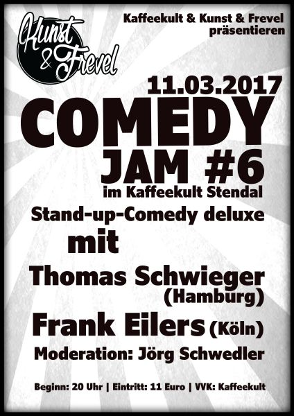 Comedy Jam in Stendal