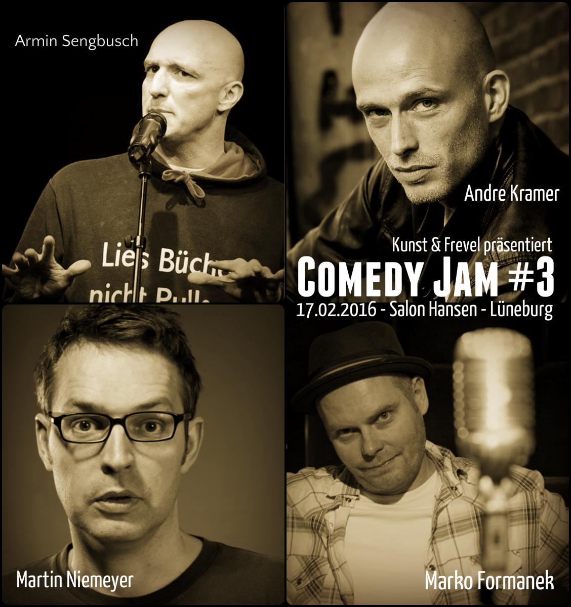 Comedy Jam #3 in Lüneburg