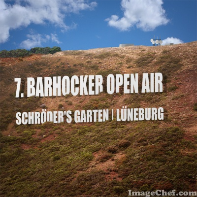 Barhocker Open Air 2017