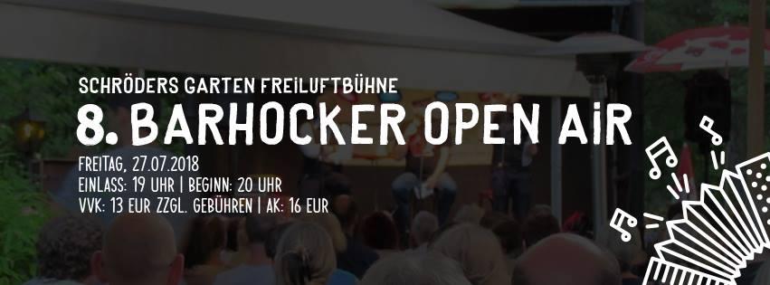 8. Barhocker Open Air in Lüneburg